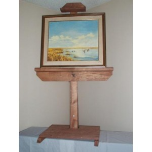 LED LCD TV STAND Art EASEL 4201
